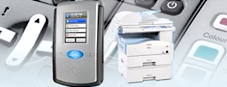point of sale machines, photo copiers, printers, faxes, scanners